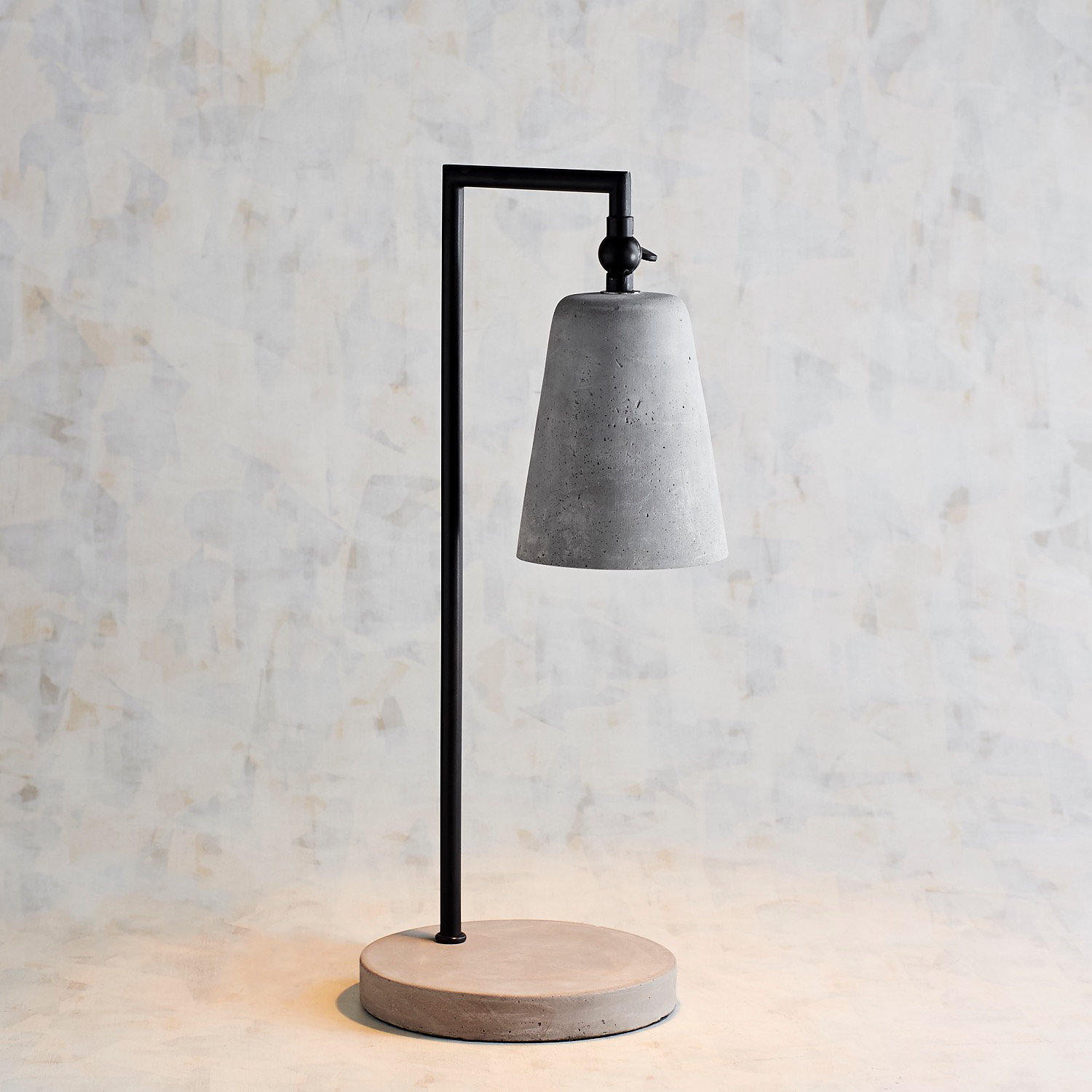 variation thumbnail of Magnolia Home Small Cement & Metal Desk Lamp