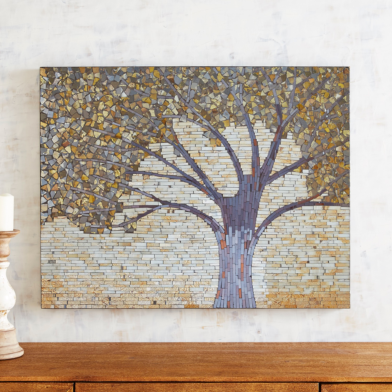 Tree Mosaic Wall Panel