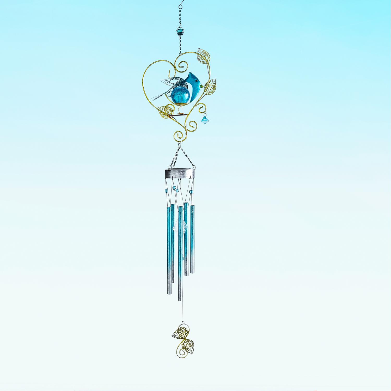 Bluebird Solar LED Wind Chimes