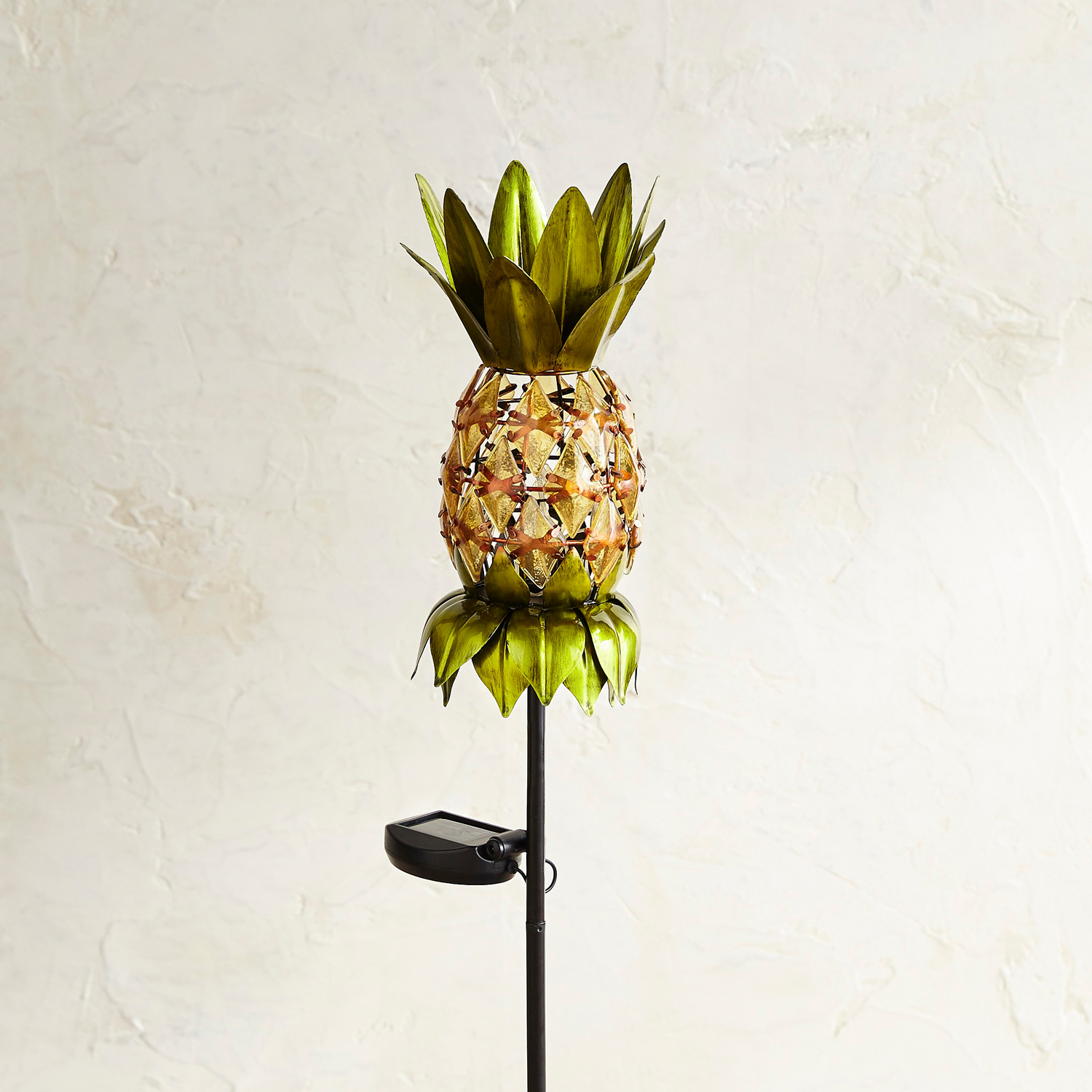 Pineapple LED Solar Garden Stake