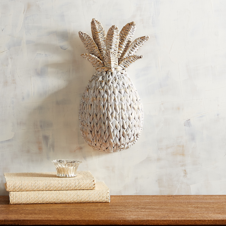 Woven Mini Pineapple Wall Decor