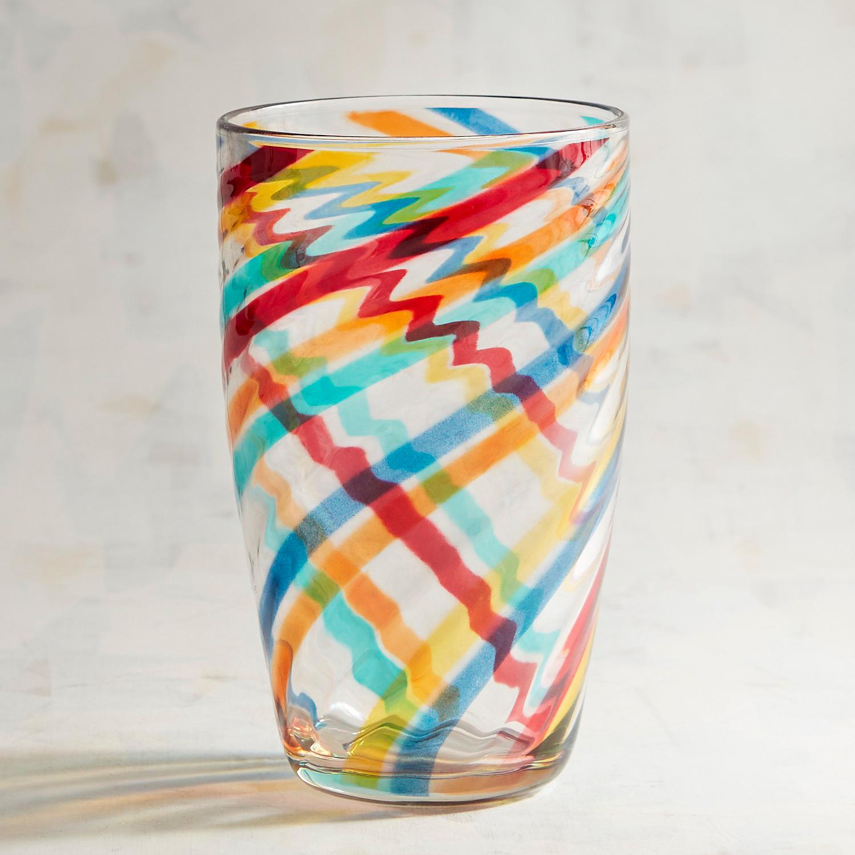 Multicolor Swirl Acrylic Tumbler