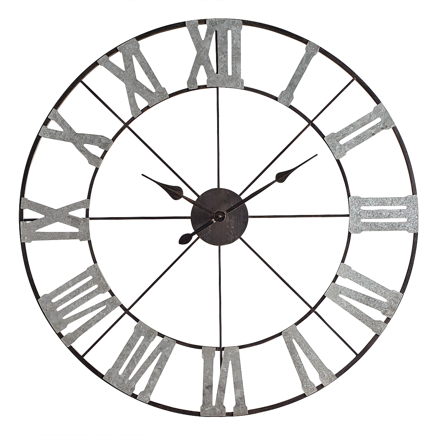 Classic Metal Wall Clock