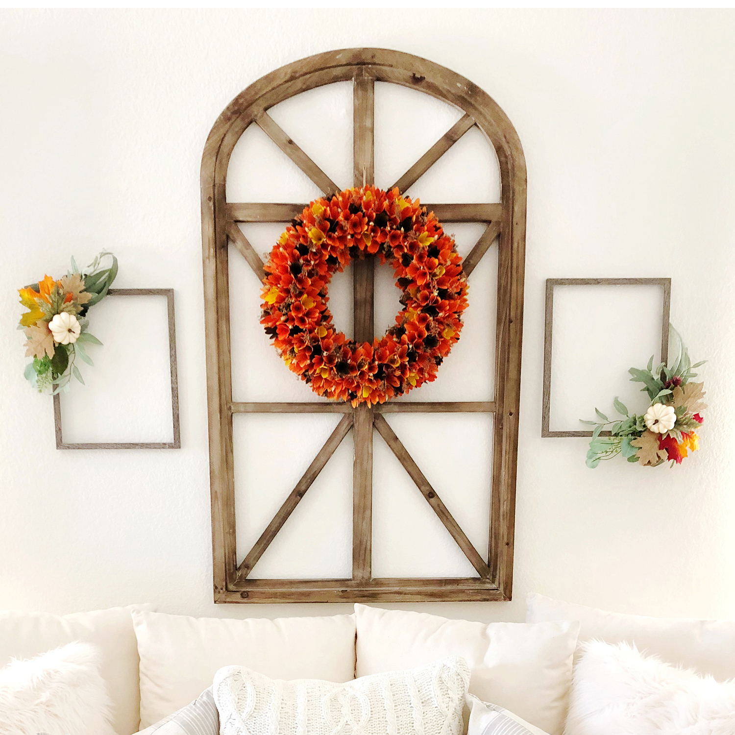 "variation thumbnail of Harvest Wood Curl 20"" Wreath"