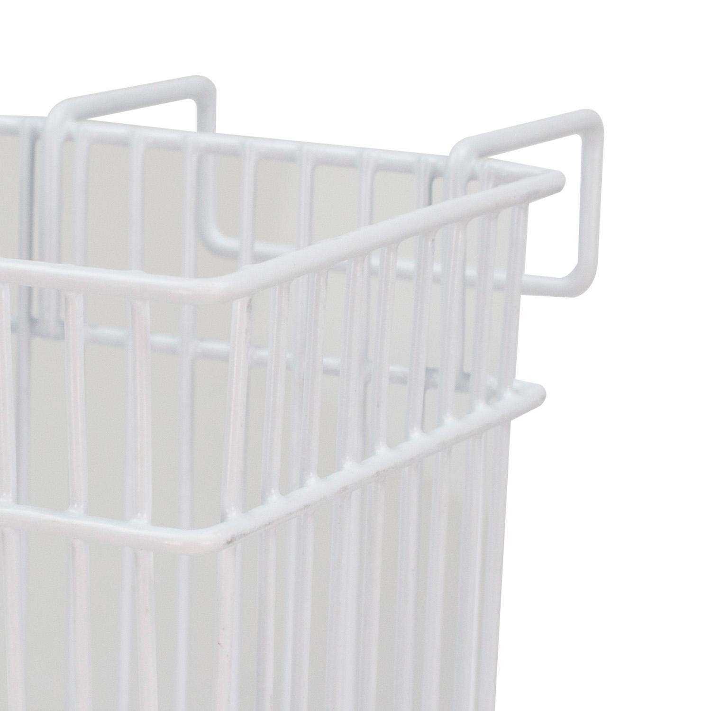 White Sink Basket
