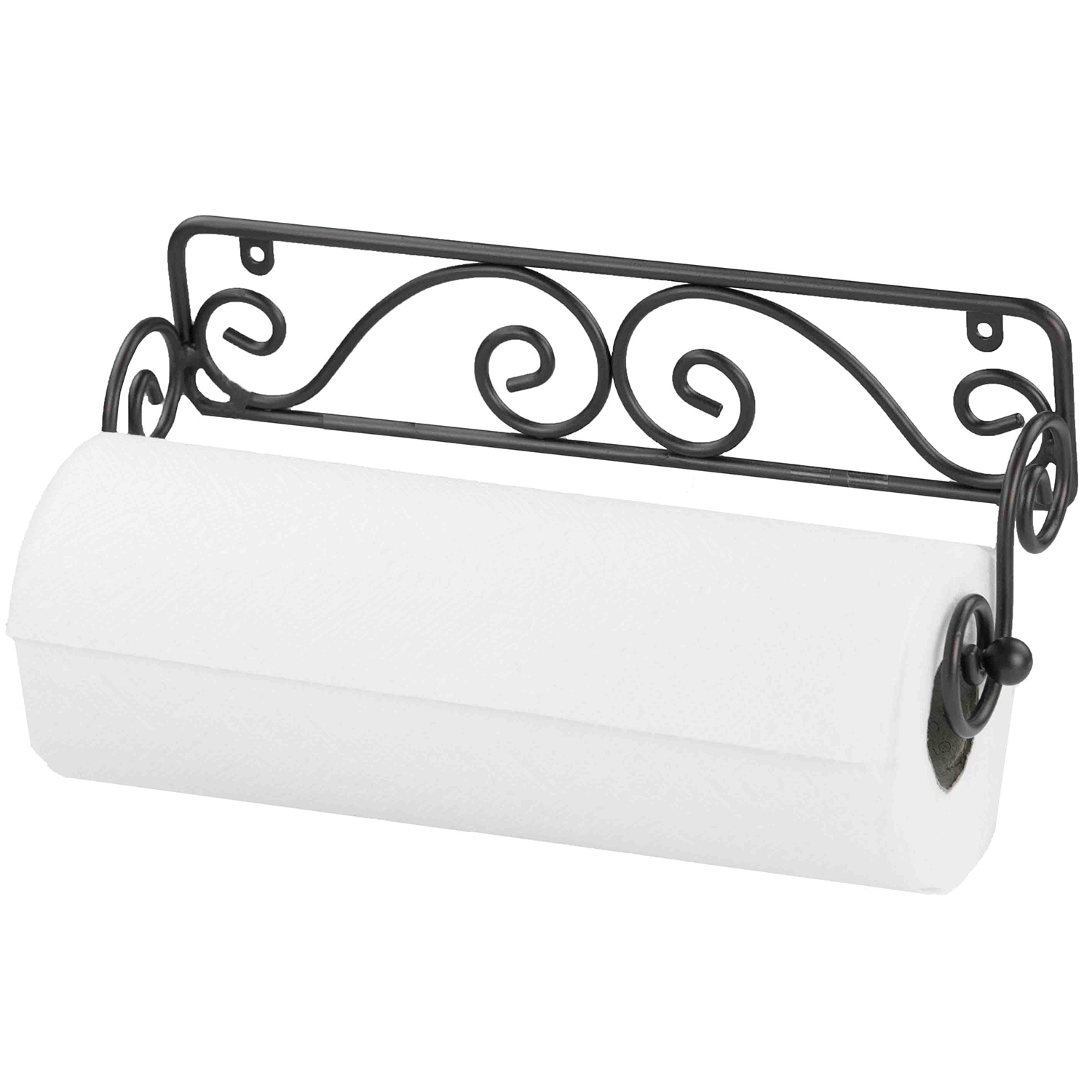 Wall-Mounted Scroll Paper Towel Holder