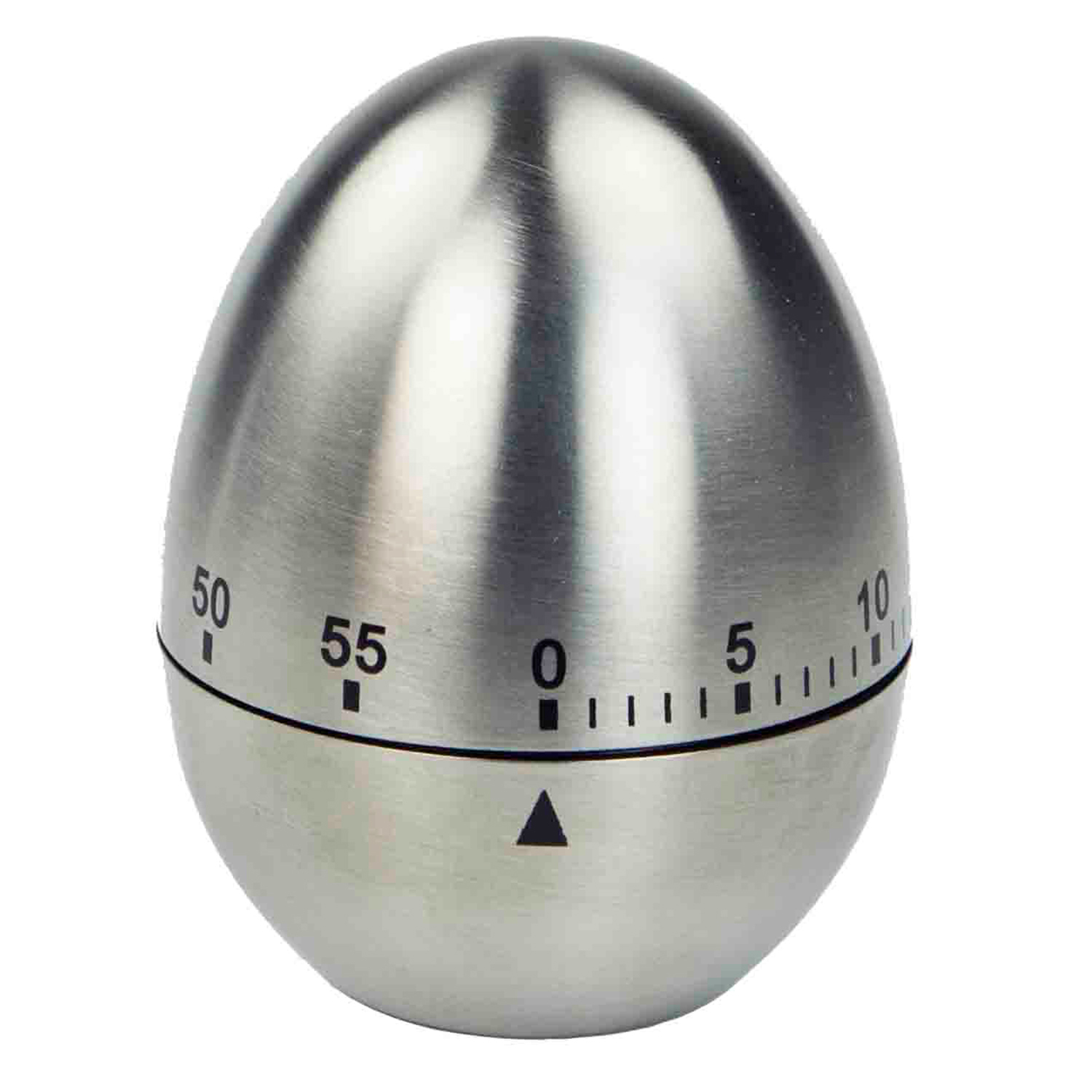 Stainless Steel Mechanical Egg Shape Timer