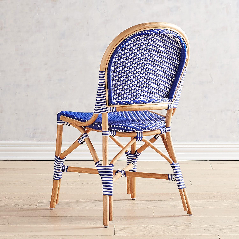 Juliane Navy Cafe Dining Chair