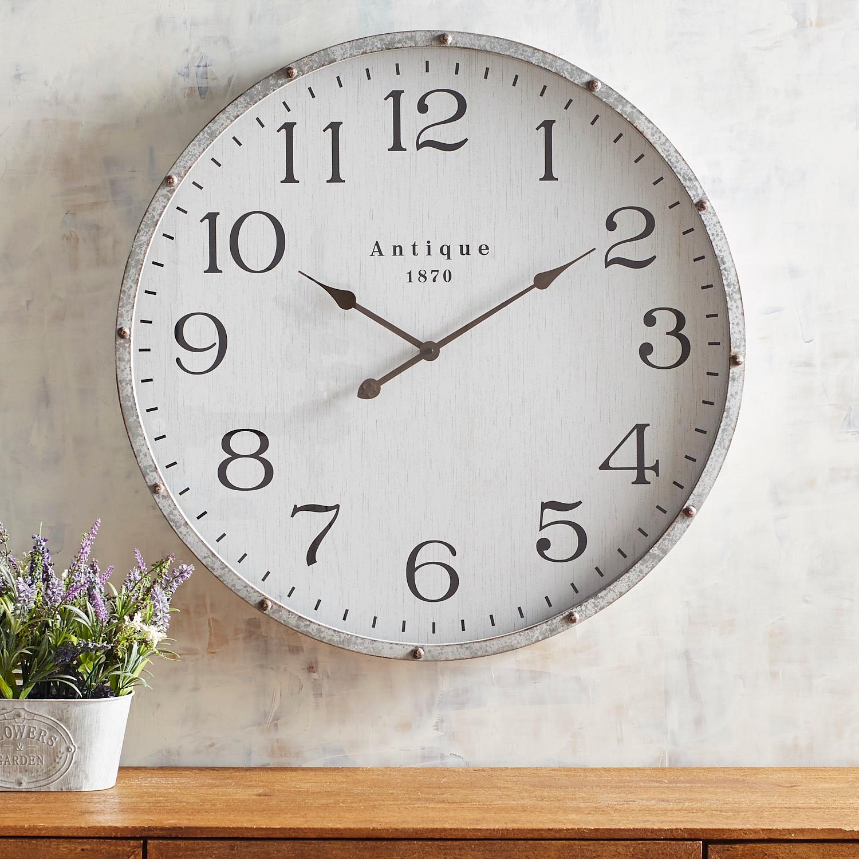 Modern Farmhouse Wall Clock