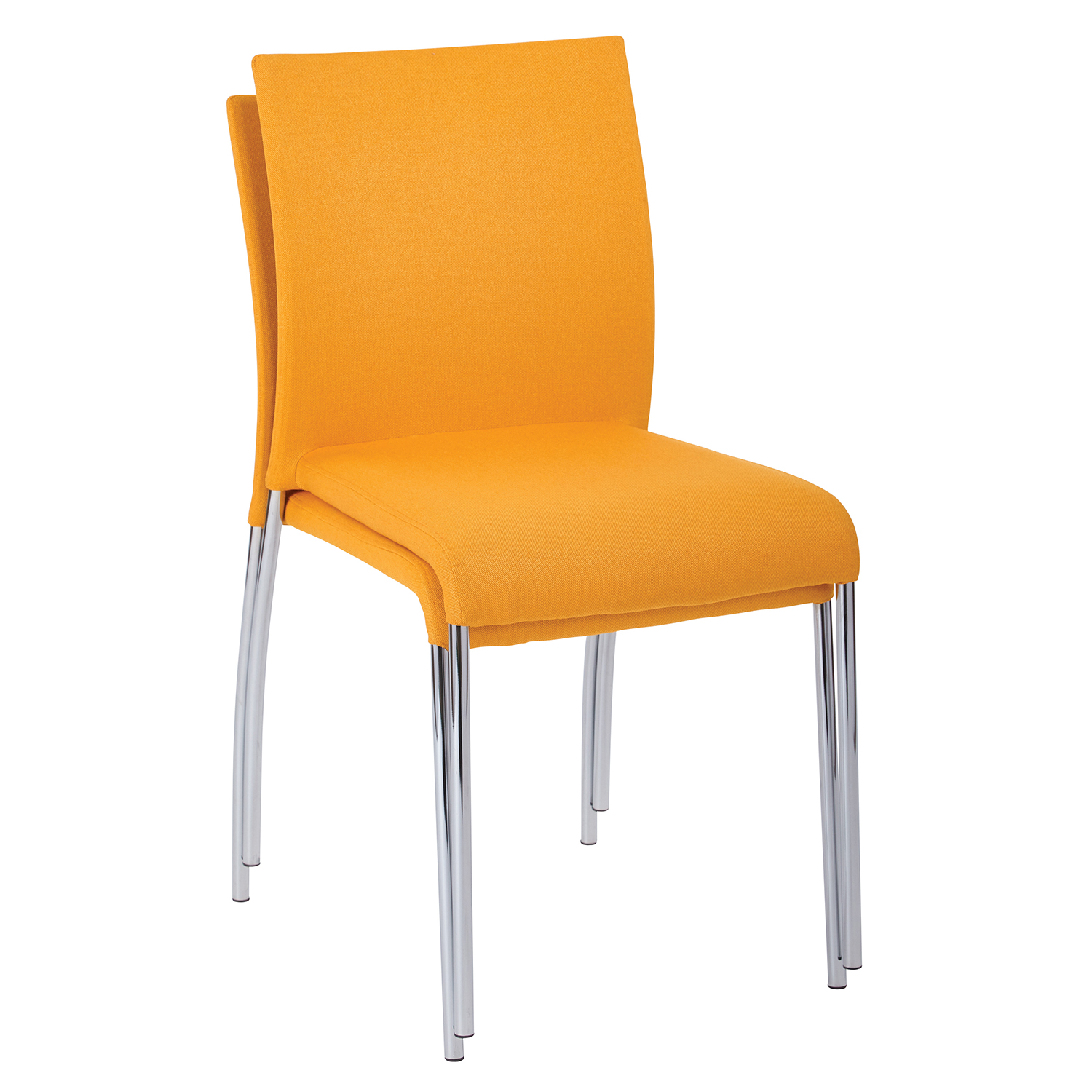 Orange Stacking Chair Set Of 2