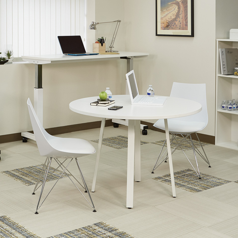 White Bistro Chair Set Of 2