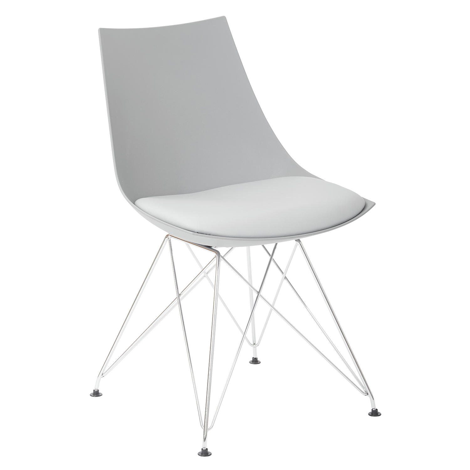 Gray Bistro Chair Set Of 2