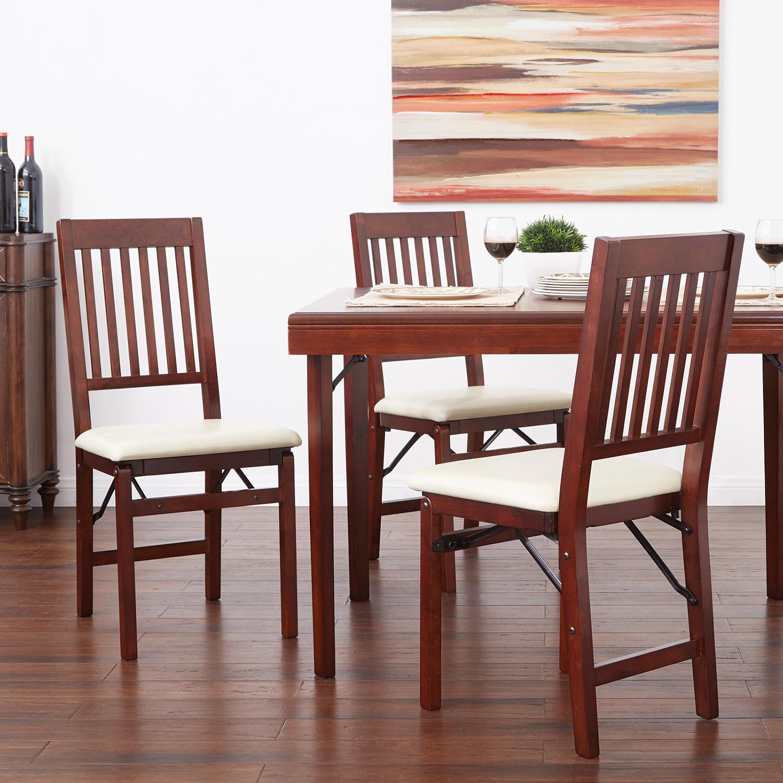 Hacienda White Folding Chair Set of 2