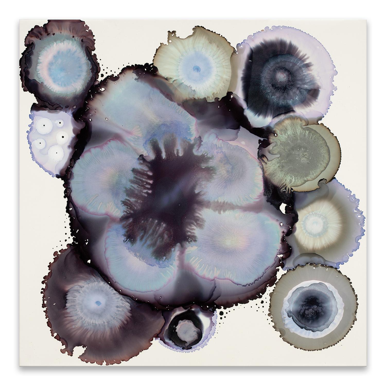Cool Tones Geode Printed Acrylic Wall Art