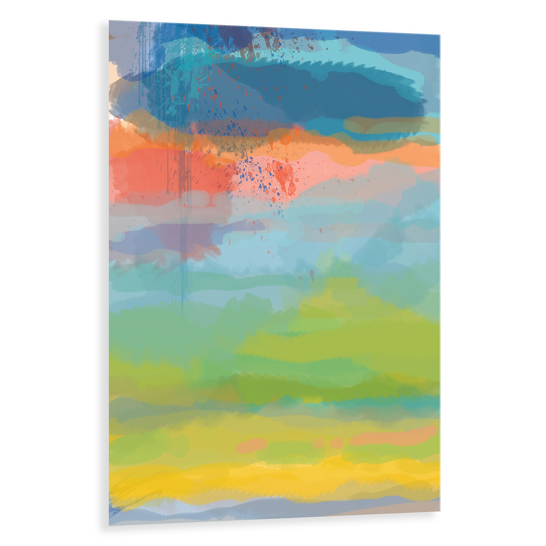 Coral Sky Printed Acrylic Wall Art
