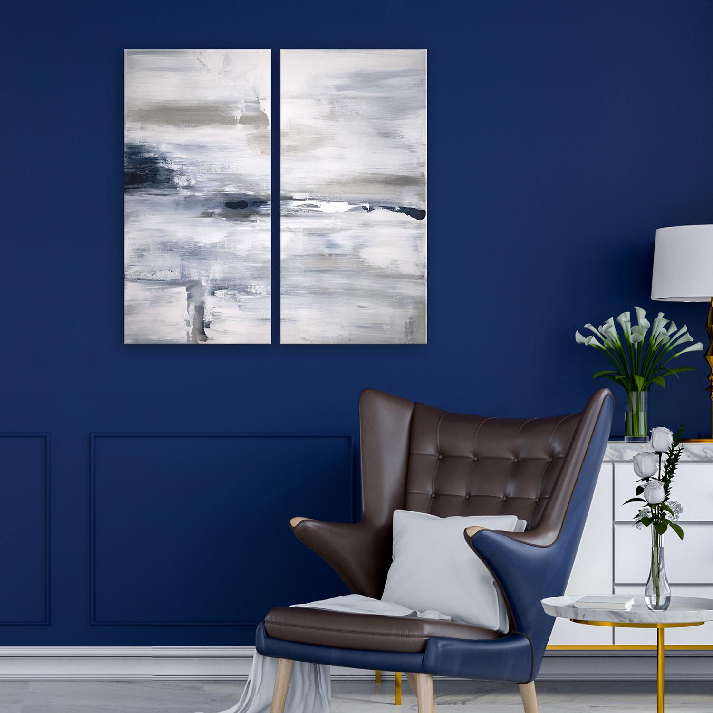 Shifting Tides Printed Acrylic Wall Art Set of 2