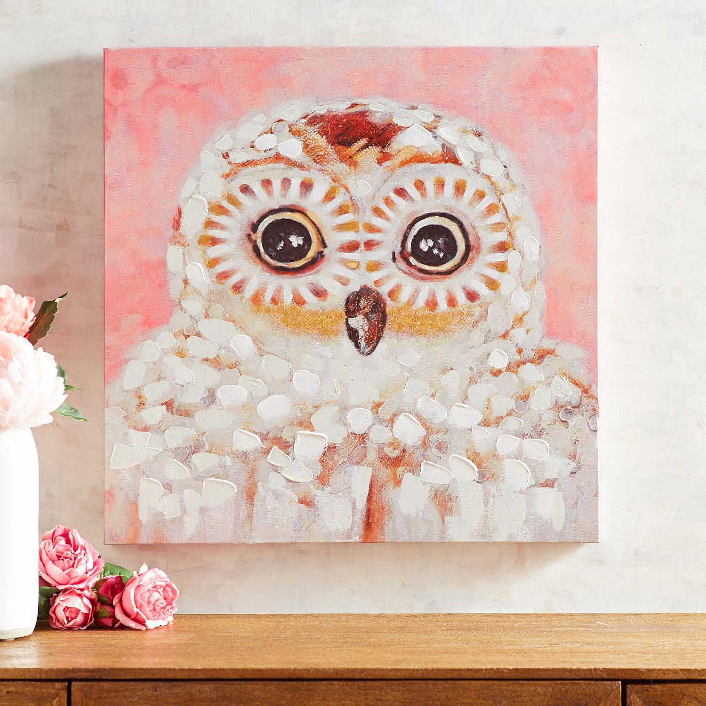 Lovely Owl Wall Art