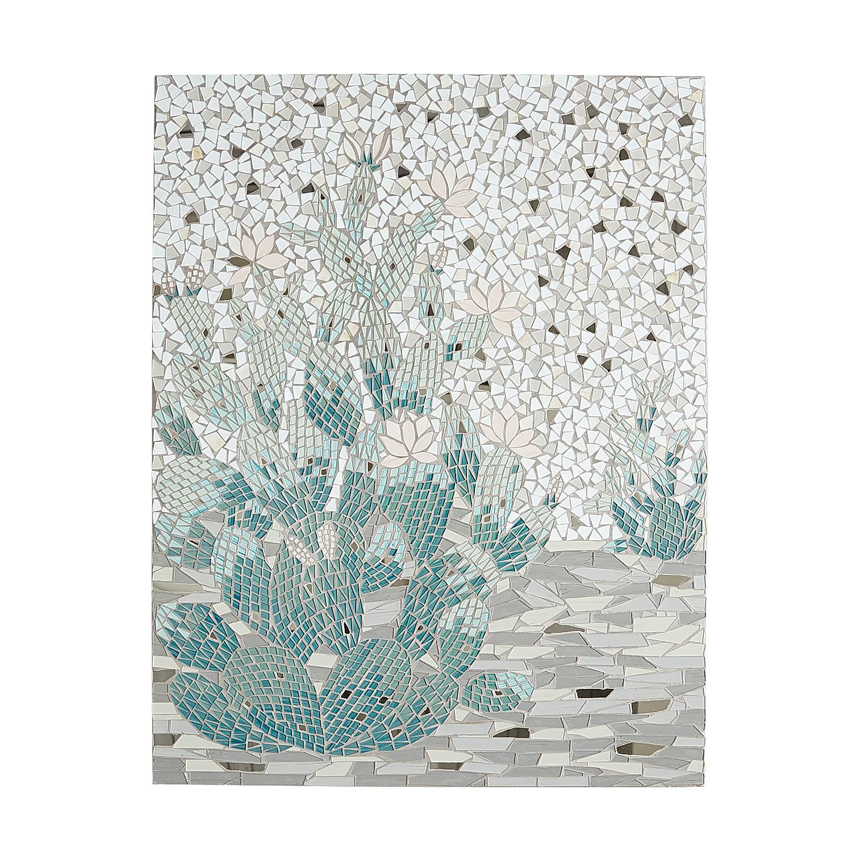Cactus Mosaic Wall Decor