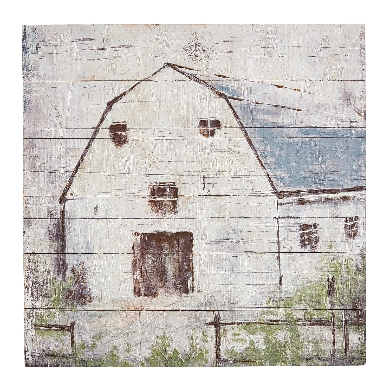 Country Charm Planked Wall Decor