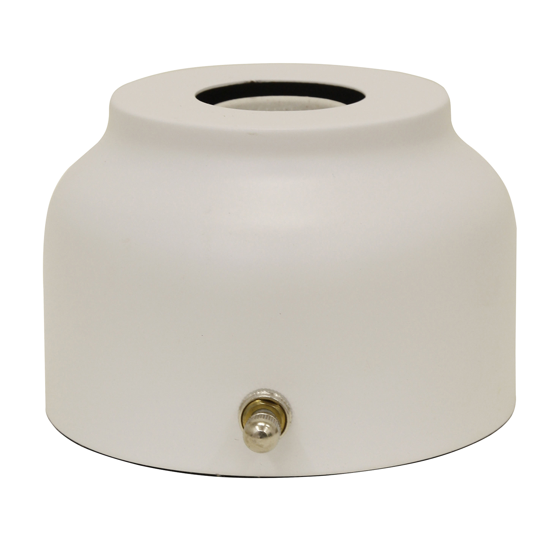 Petite White Body Table Lamp