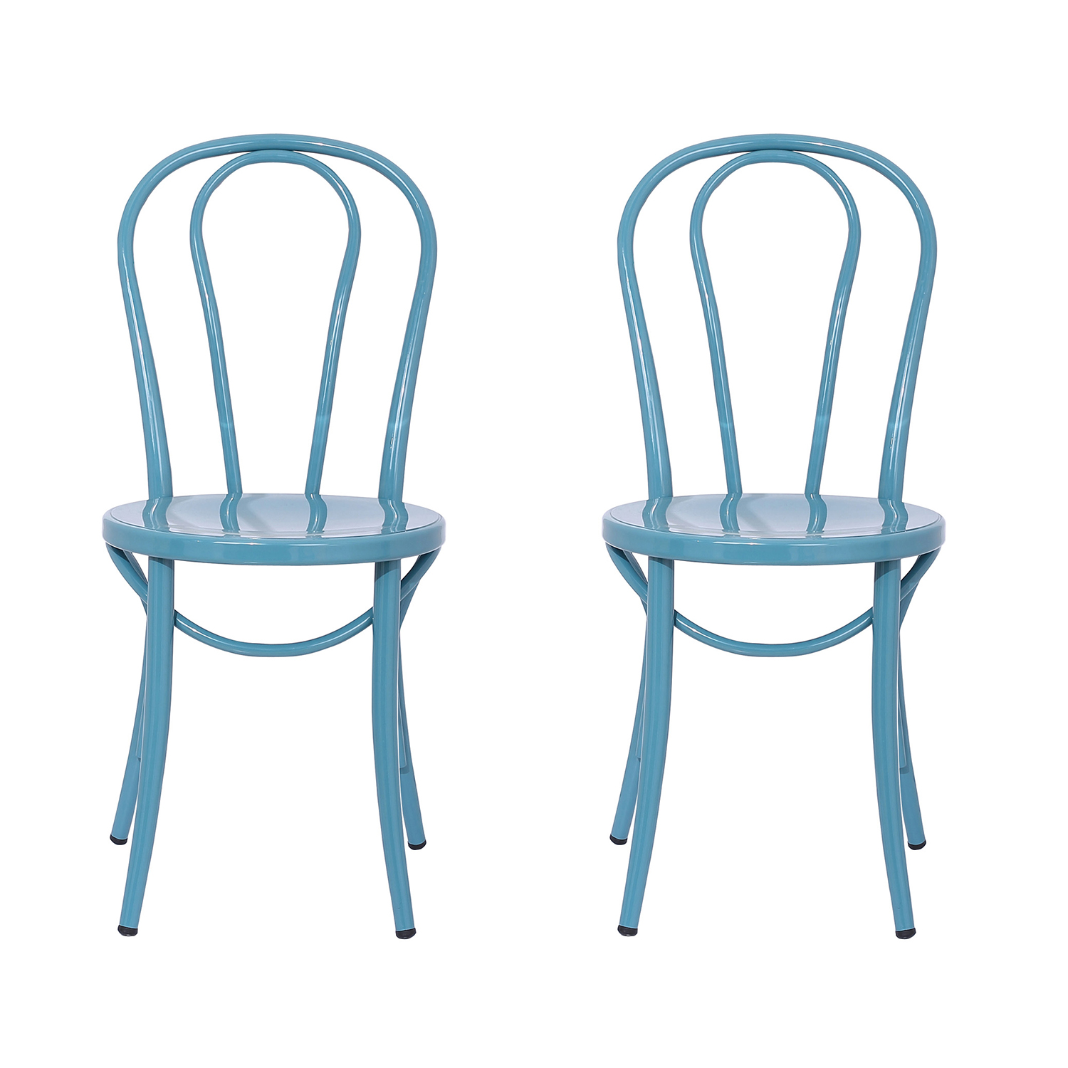 Teal Bistro Chair Set of 2