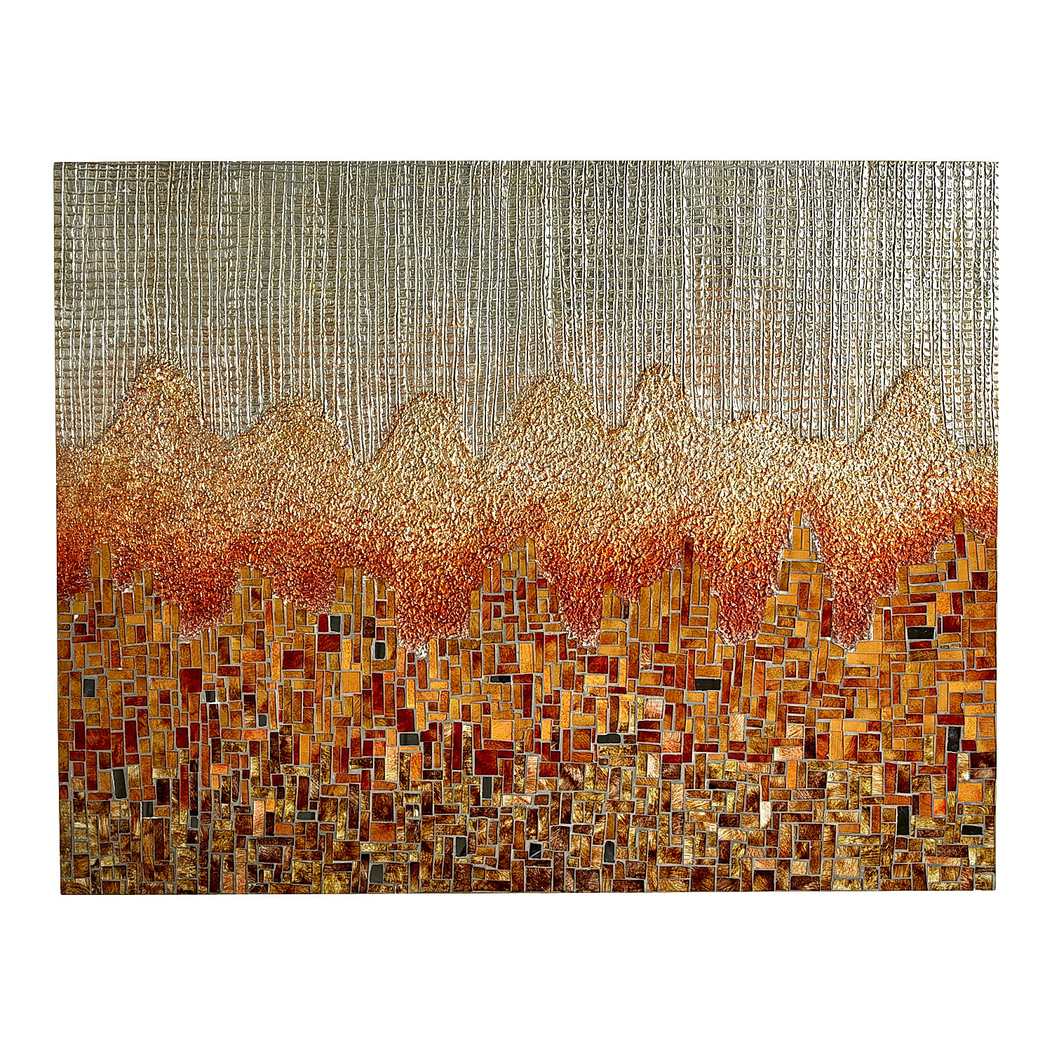 Mosaic Sunset Horizon Wall Panel