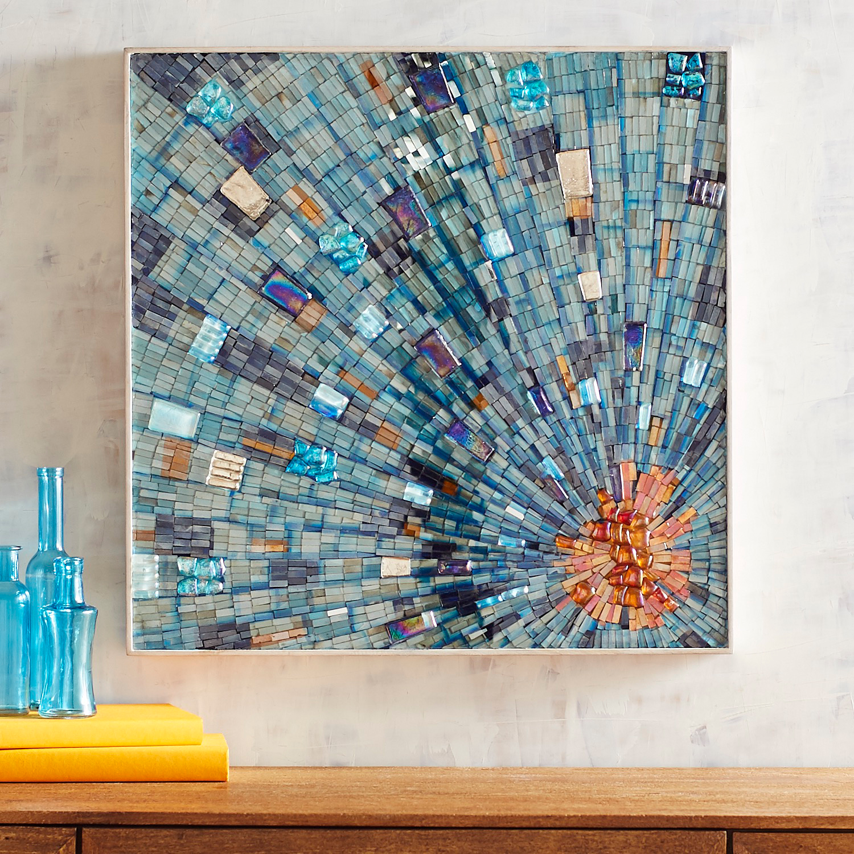 Mosaic Burst Wall Decor