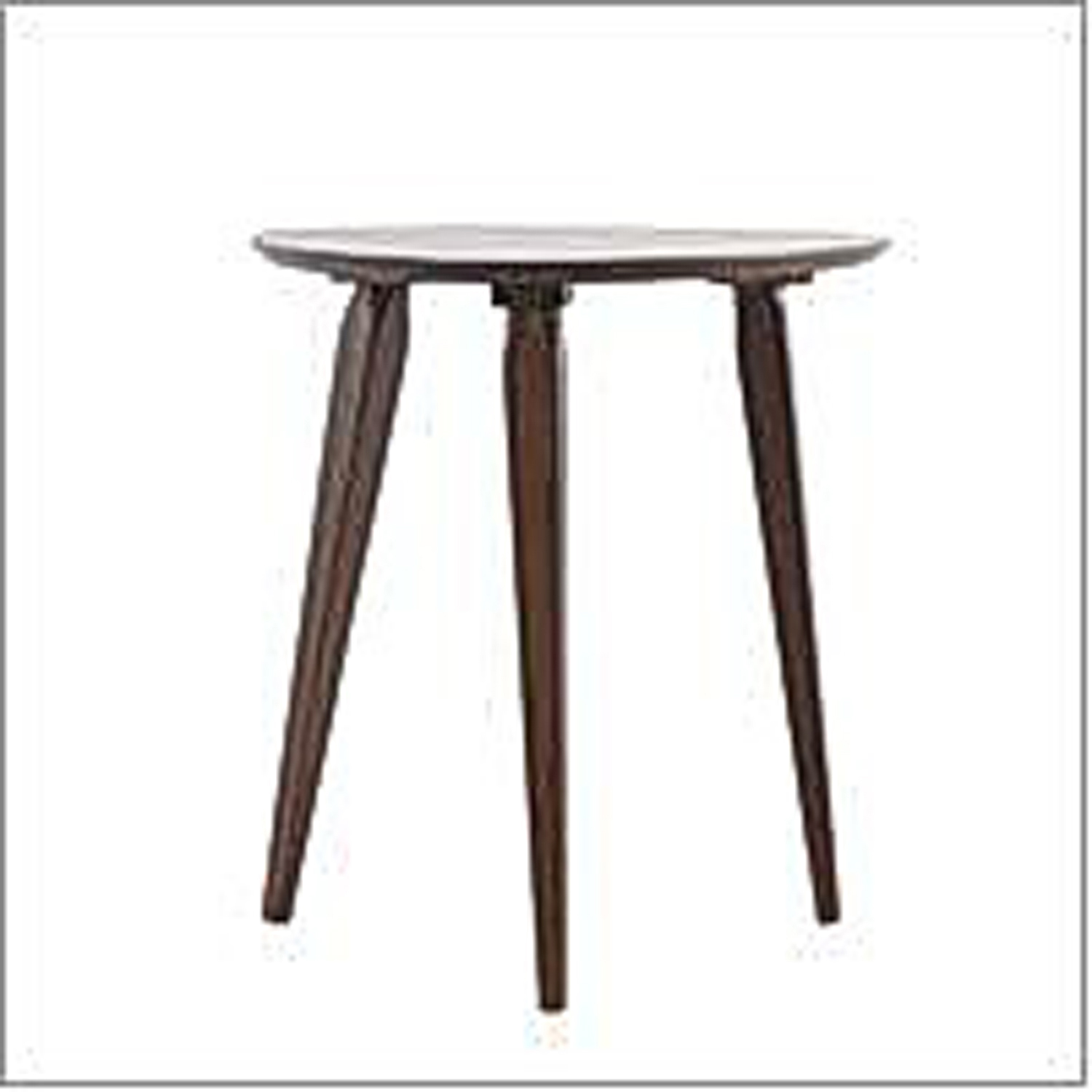 Cassie Walnut End Table