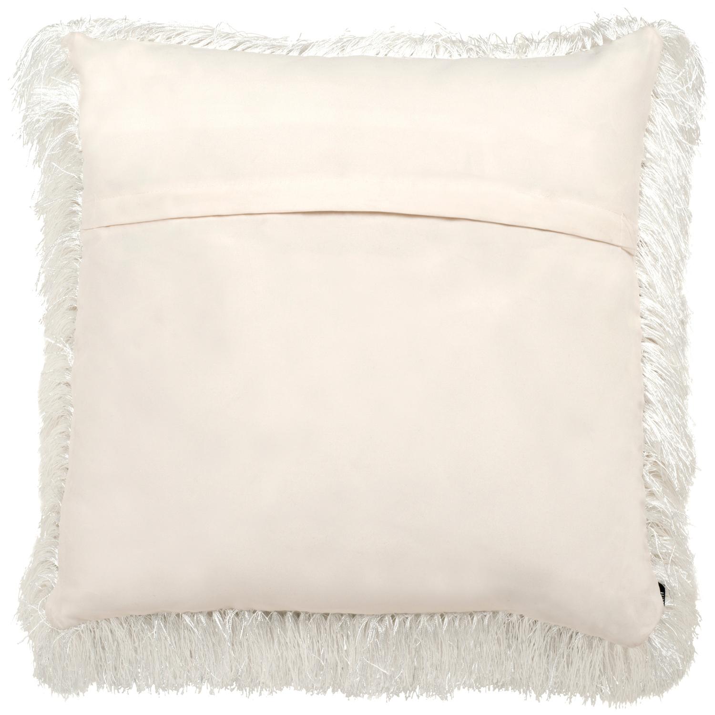 Shag White Pillow