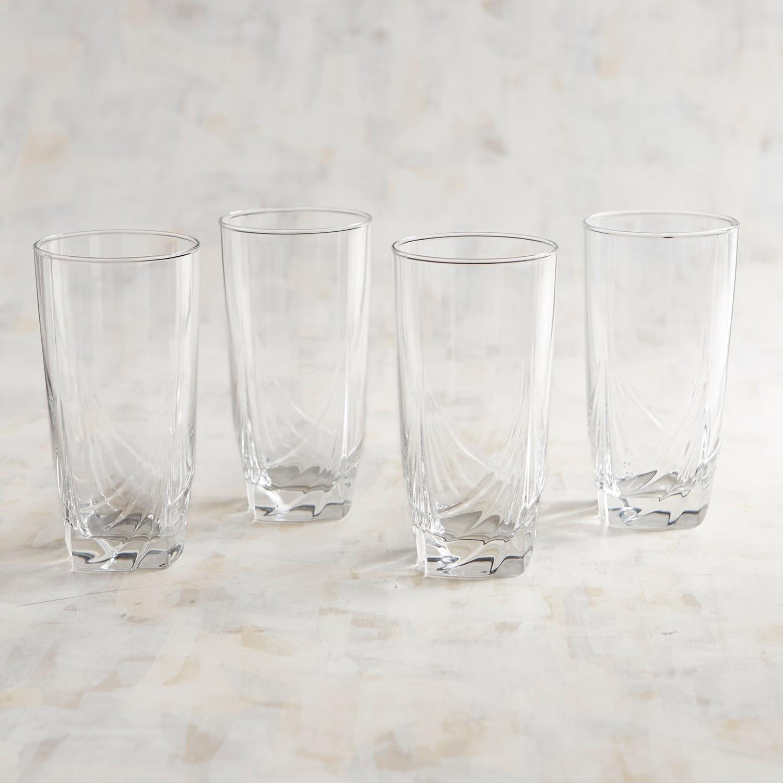 Riptide Etched Tumbler Glass Box Set