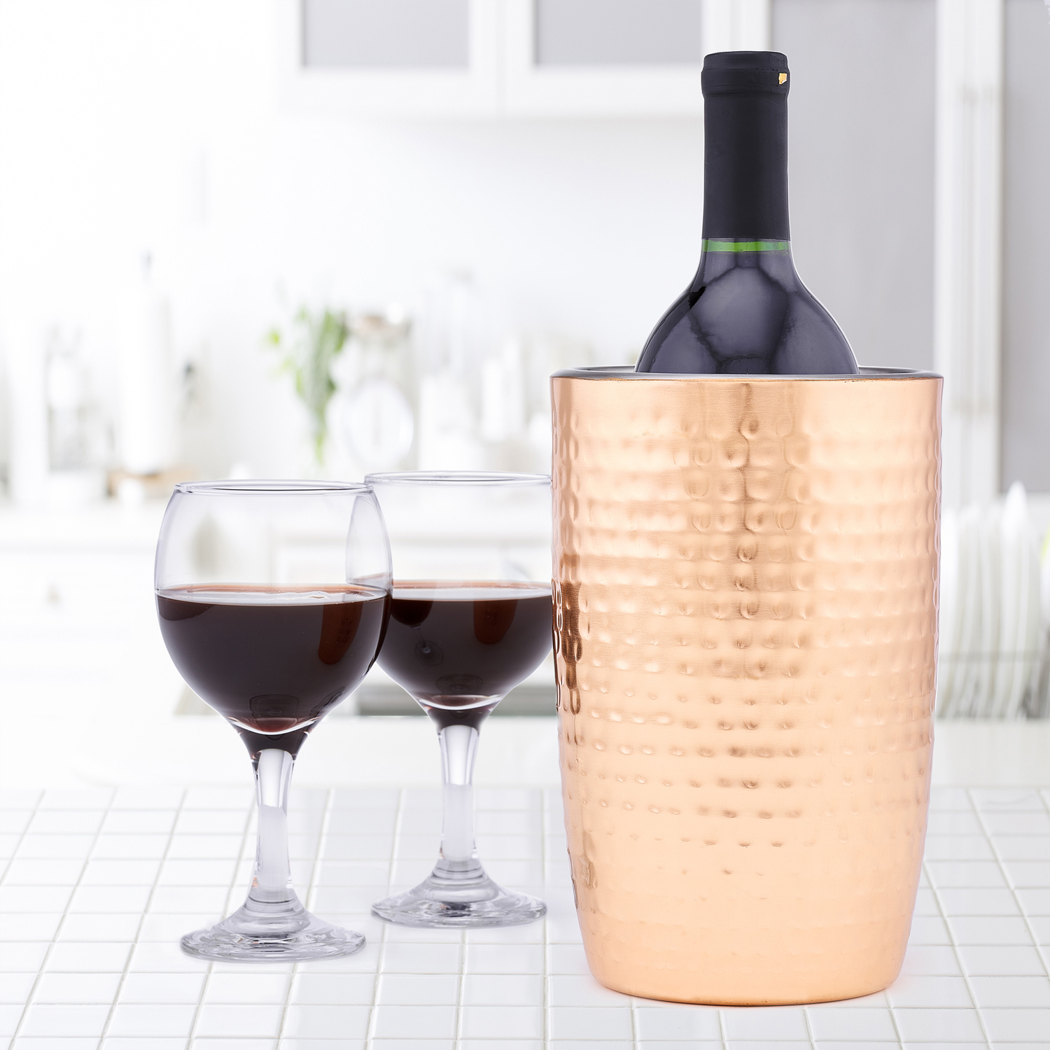 Aura Copper Double Walled Wine Cooler