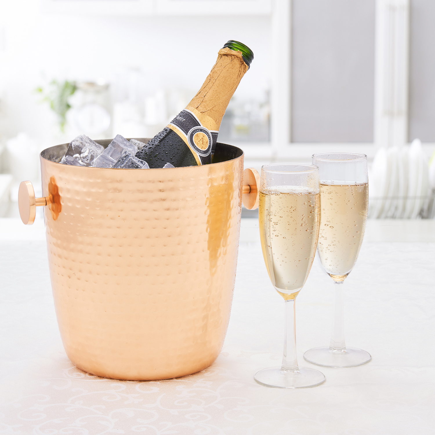 Aura Copper Champagne Bucket