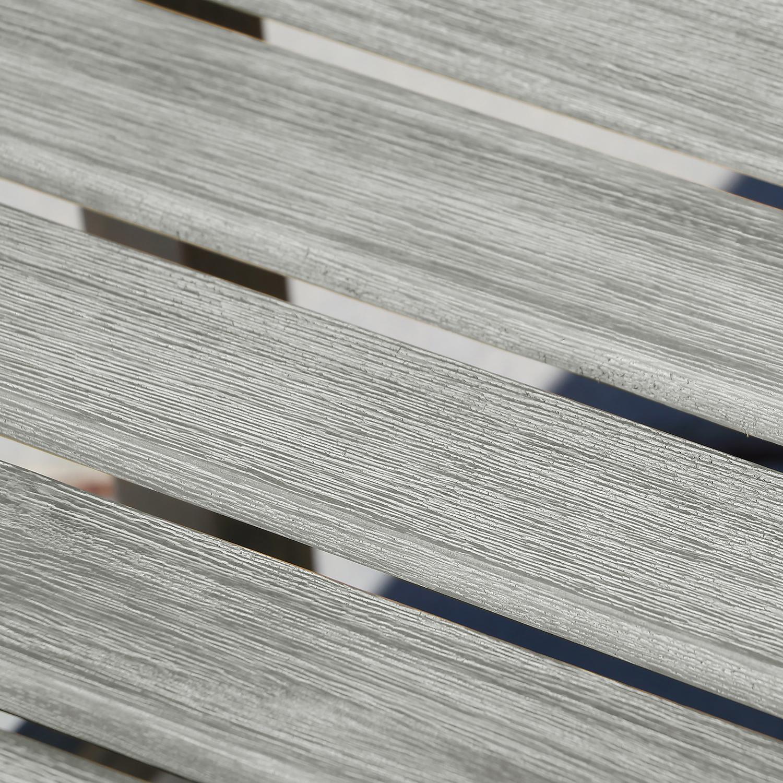 Renaissance 5' Hand-Scraped Wood Backless Garden Bench