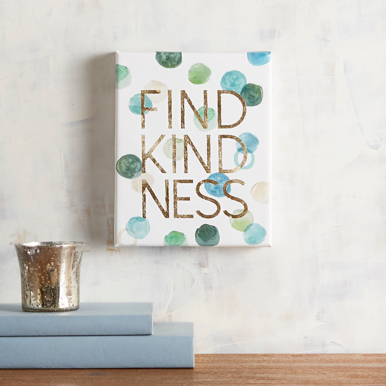 Find Kindness Small Wall Art