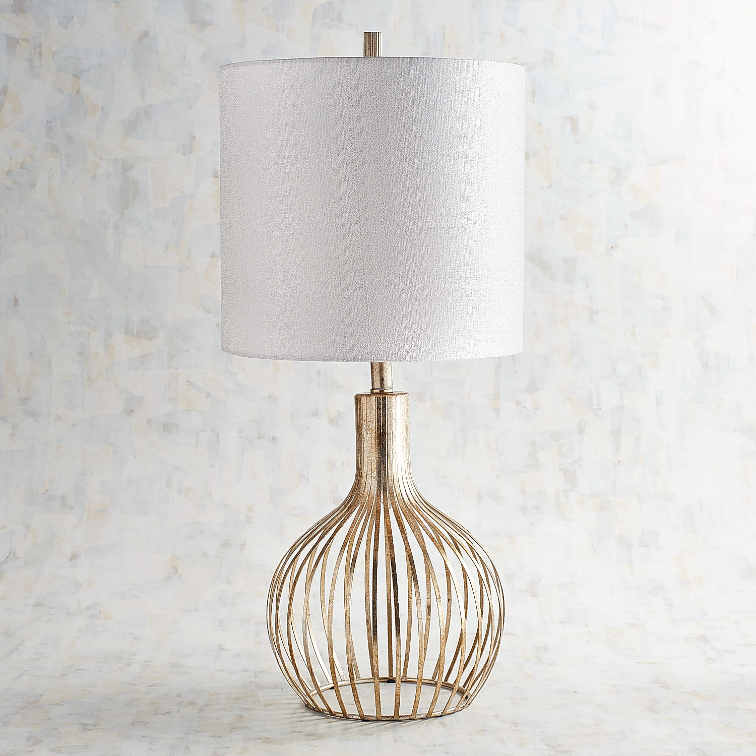Golden Wire Table Lamp