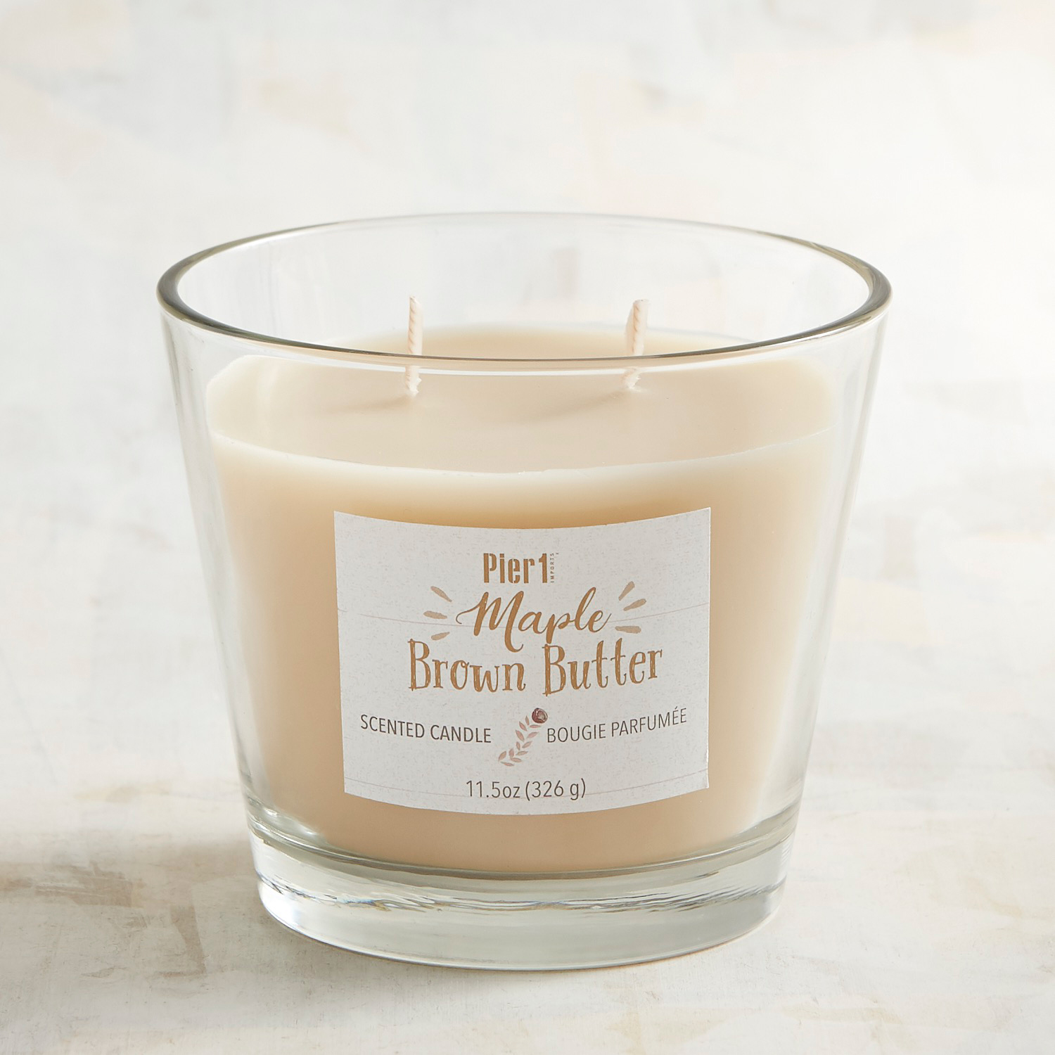 Maple Brown Butter Filled 2-Wick Candle