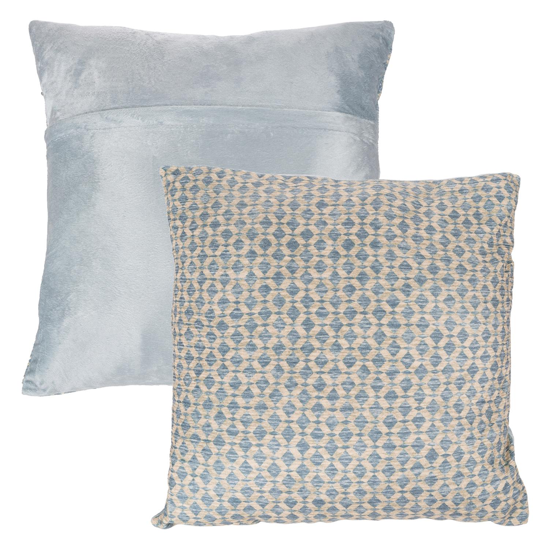 """18"""" Sand Modern Geometric Textured Throw Pillow"""