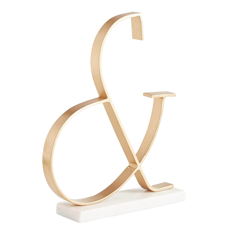 Modern Ampersand Sculpture