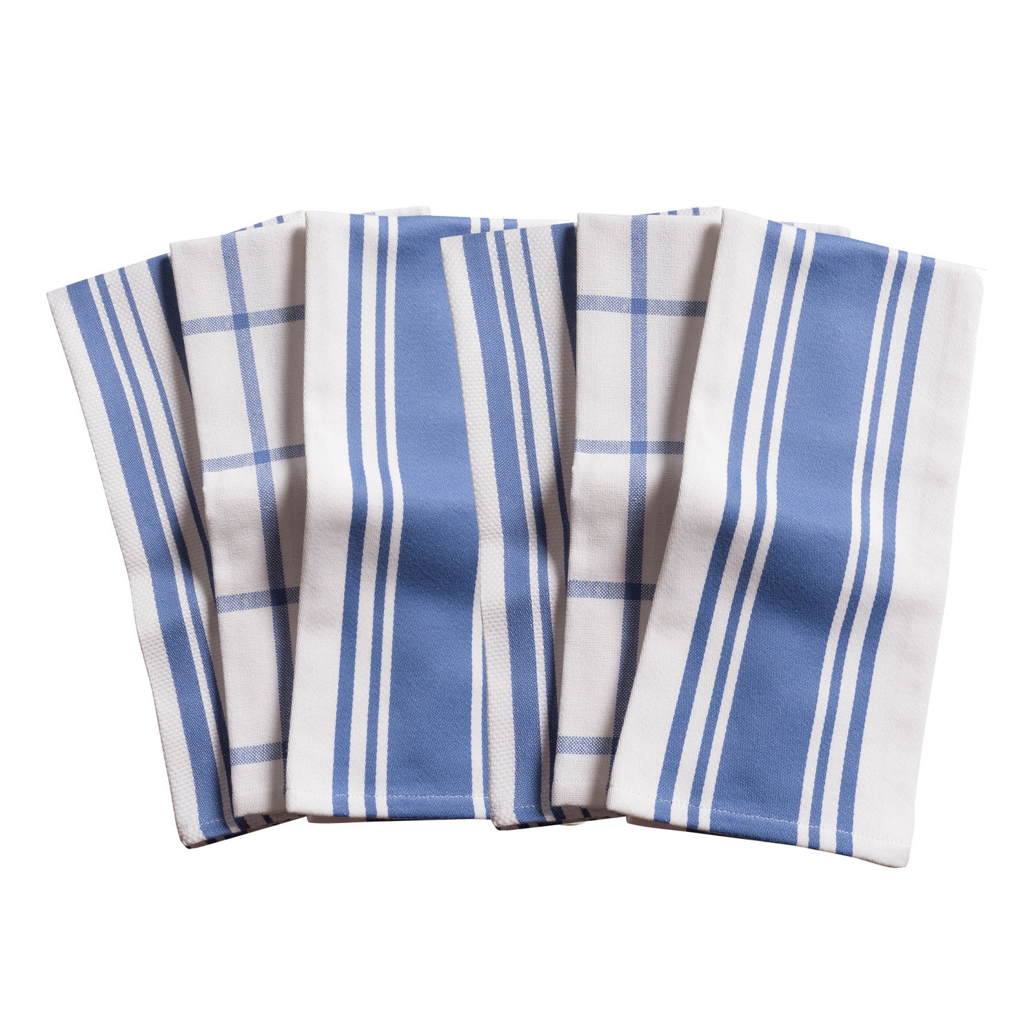 Periwinkle All Purpose Kitchen Towels Set of 6