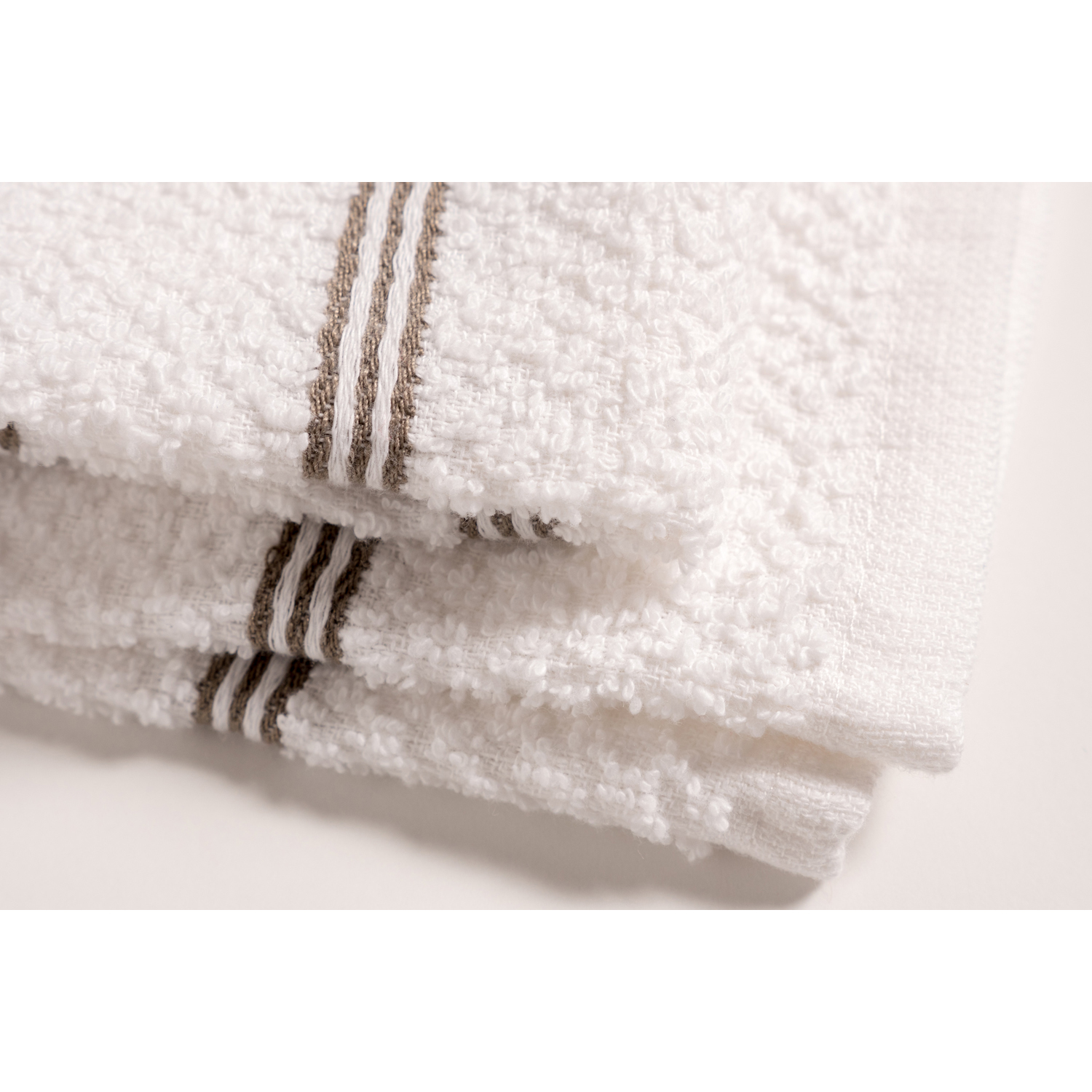Ultra Absorbent Silver Kitchen Towels Set of 8