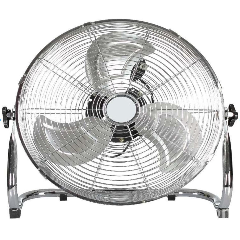 "14"" Silver Adjustable Tilt Portable Floor Fan"