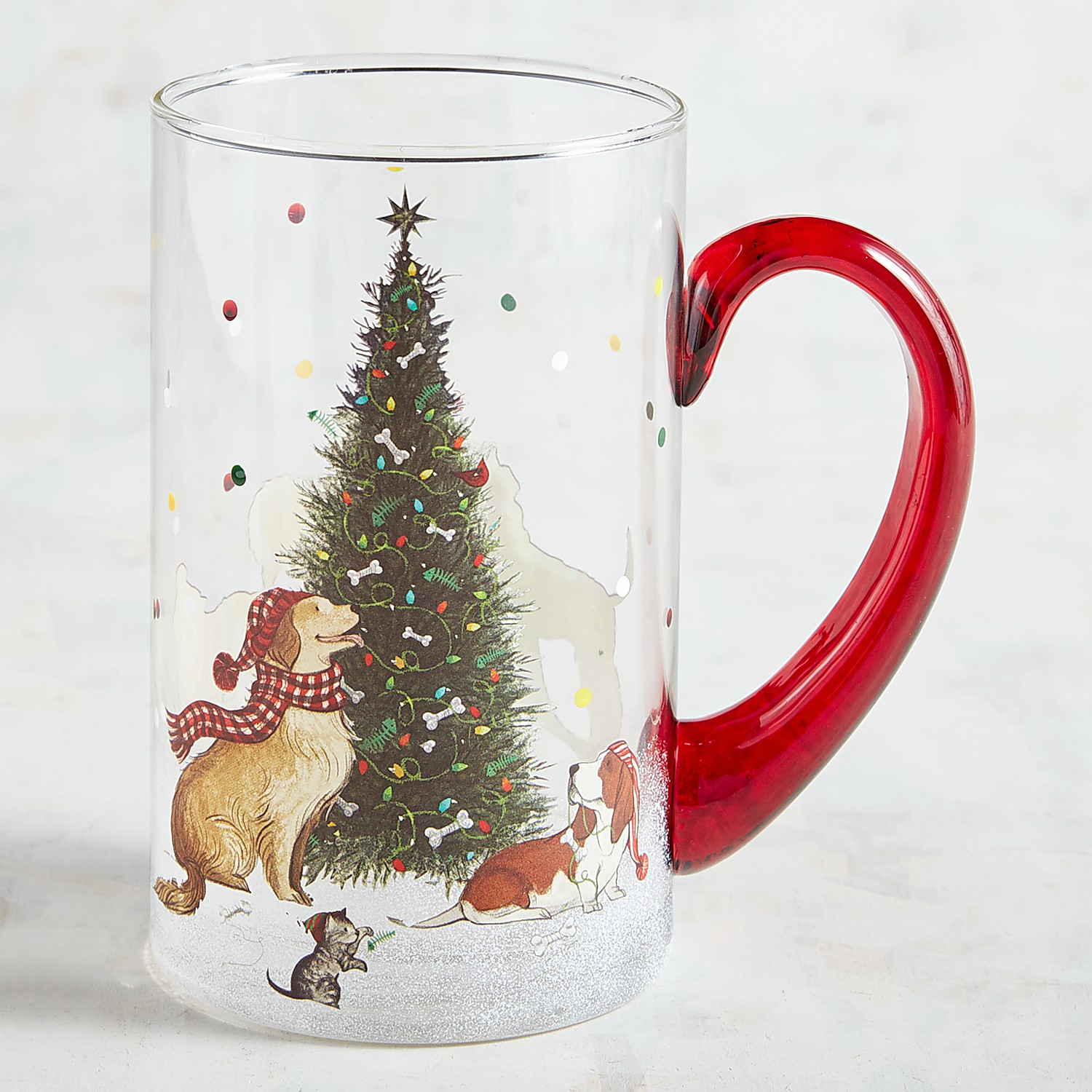 Park Avenue Puppies™ Christmas Morning Hand-Painted Beer Stein