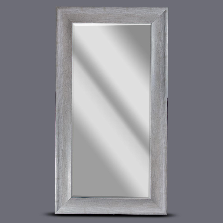 Gray Bentley Rectangular Framed Mirror
