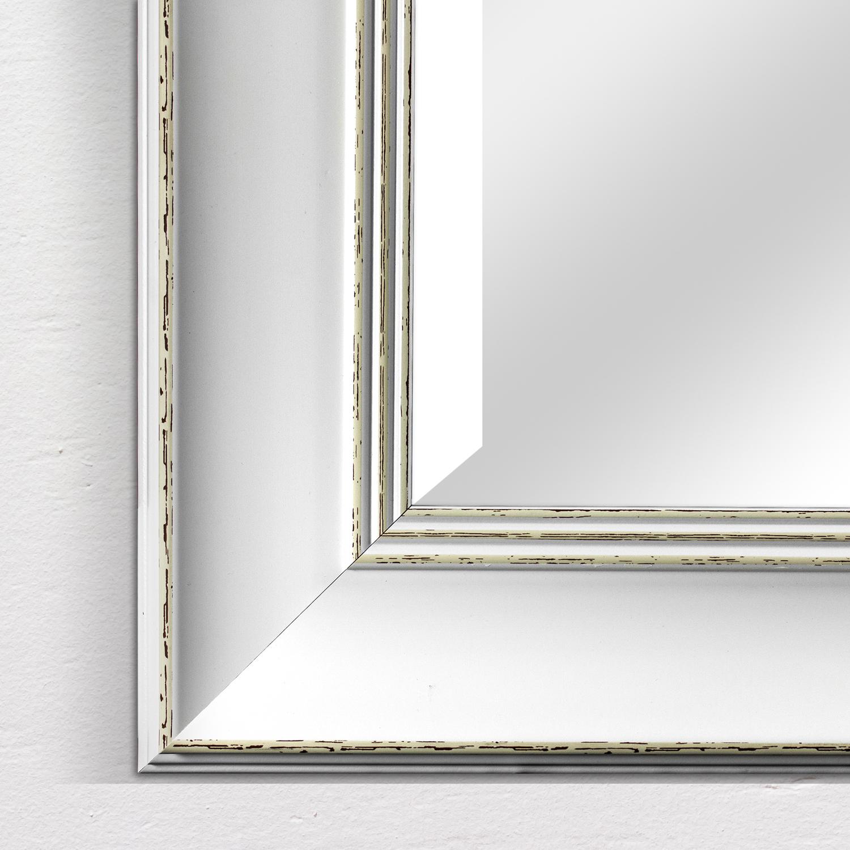 Camden Antiqued Rectangular Wall Vanity Mirror