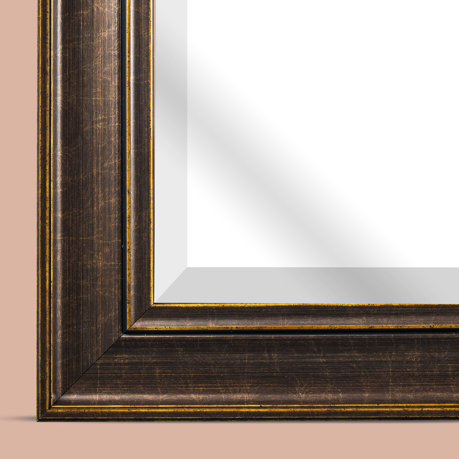 variation thumbnail of Bentley Square Bronze Wall Vanity Mirror