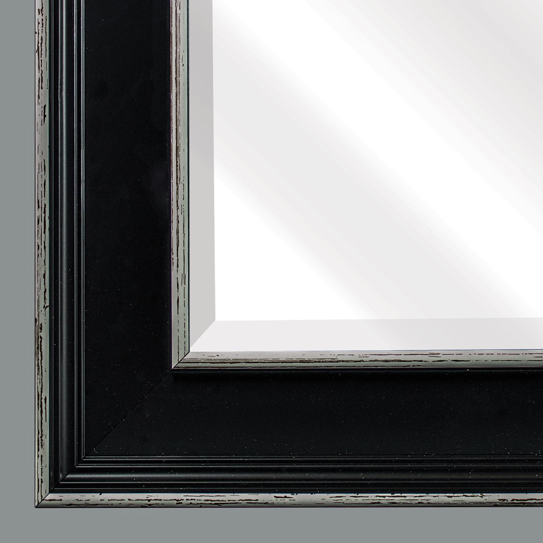 Brown Camden Rectangular Framed Mirror