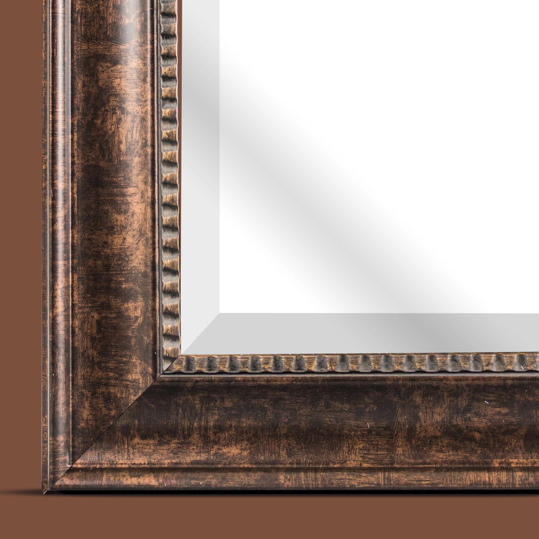 Bronze Hartley Medium Square Wall Vanity Mirror