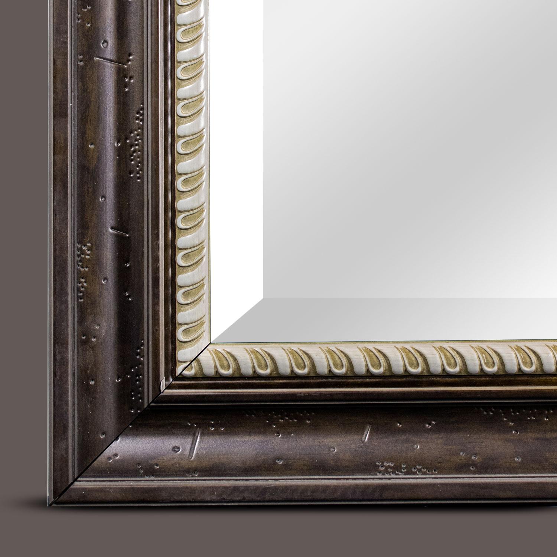 Brown Leighton Rectangular Mirror