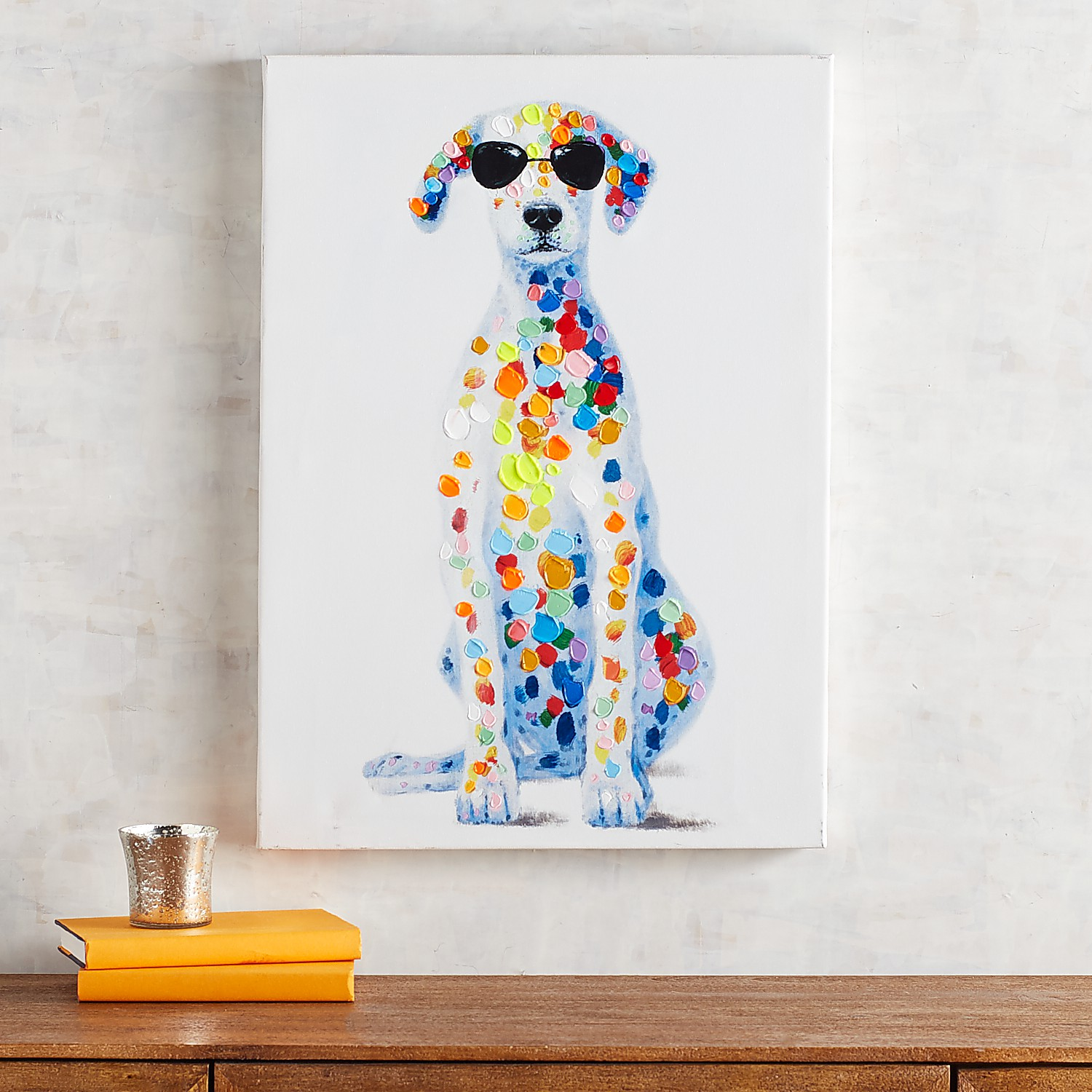 Spotted Dog Wall Art
