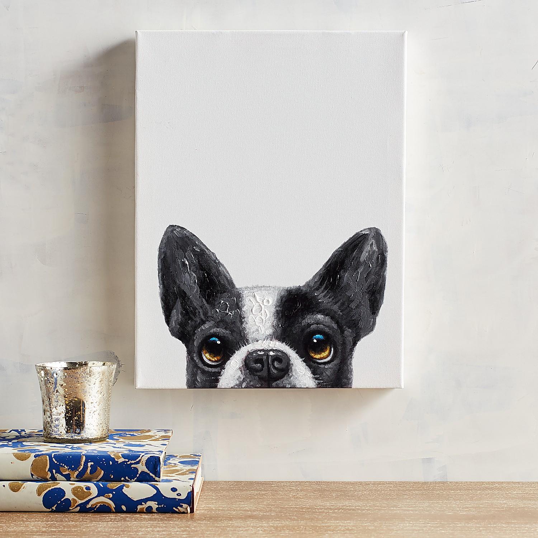 Hello Dog Wall Art